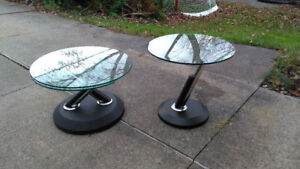 Ultra modern coffee table & side table