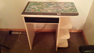 Small computer desk and chair for sale