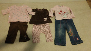 6-12 months girl's outfits