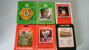 Cassettes audio 8 pistes