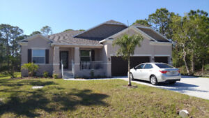 Brand new 4 bed, 3 bath southwest florida home near the beach