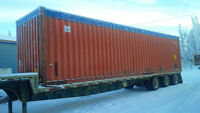 40' removable soft top containers