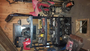 Polaris trail boss 250 2 stroke motor both clutches and harness Stratford Kitchener Area image 2