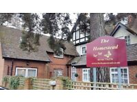 Permanent Senior Carer for residential care home in Crowthorne