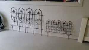 Ornamental Metal Step In Decorative Fence or Garden Panels