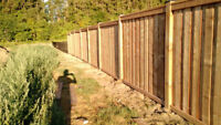 Post Holes and Post Installs Fencing – Boulet Fence Construction