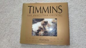 3 books About Timmins, Ontario Area