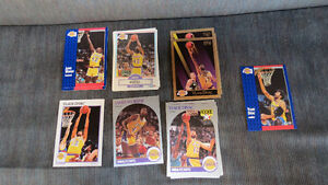 LA Lakers players(V.Divac, J.Worthy)