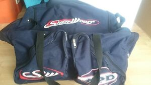 Sherwood hockey bag.