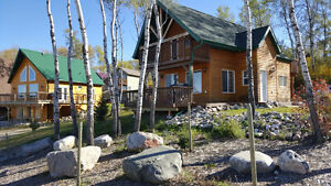 Rustic Slopeside Chalet at Asessippi Resort - Skiing Getaway!