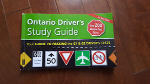 Ontario Driver Study Guide Book for G1 Exam (NEW)