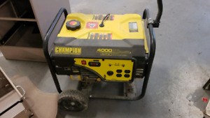 Champion Power generator for sale