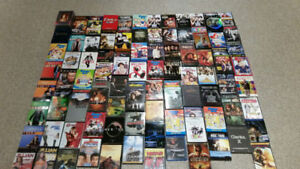 Assorted Collection of DVDs and Blu-ray