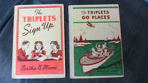 """The Triplets"" by Bertha B.Moore(2) 1957"