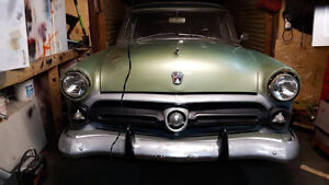 52 FORD CRESTLINE SEDAN NOW LOOKING FOR RESONABLE OFFER