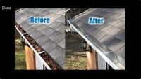 EAVESTROUGH cleaning services!!!!