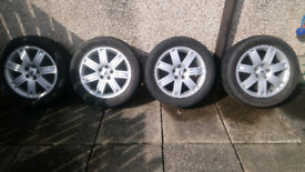 Land rover alloy wheels