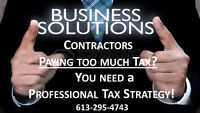 TAX PROBLEMS: SAVE TAXES with a PROFESSIONAL TAX STRATEGY!