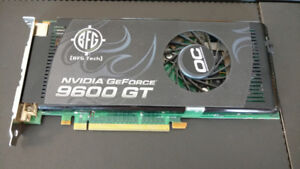 GeForce BFG 9600GT 512MB PCI-E Dual DVI Overclocked