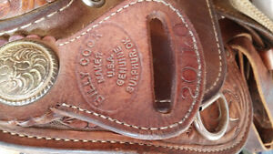 looking for billy cook barrel saddle