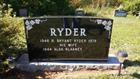Headstone Cleaning and Letter re-painting