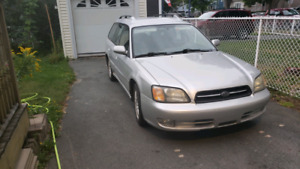 2002 Subaru legacy wagon for parts or repair