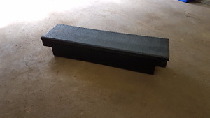 Black 1/4 ton truck tool box
