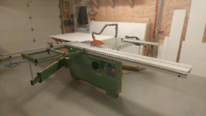 8 foot sliding table saw