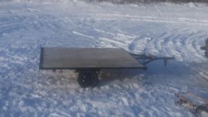 Skidoo trailer