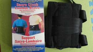 BRAND NEW LUMBAR BACK BRACE SUPPORT FOR THERAPY