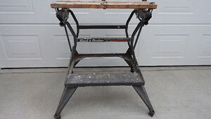 Black & Decker Deluxe Dual Height Work Bench Workmate Canada Mad