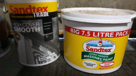 White Santex Smooth Masonary Paint 12.5 Ltrs