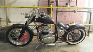 1967 BSA chopper project Cambridge Kitchener Area image 6