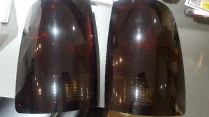 Smoked taillights