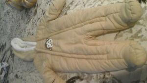 6-12 month snow suit