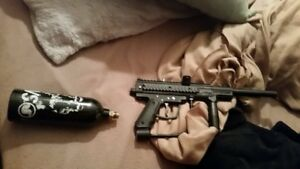 Want gone today . Orginally paid 150.00 (Paintball gun)