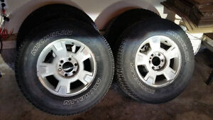 Wheels and Tires for 2010 F-150