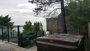 Executive one bedroom waterfront home