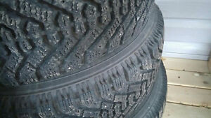 Goodyear Winter Tires for Sales on Rims
