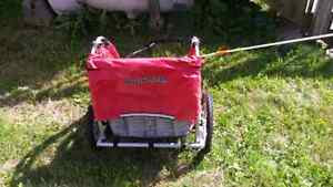 Triumph 2 seater bicycle trailer