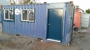 Mobile Shipping Container Office for Rent !