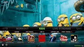 Kodi configuration movies sports ect