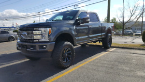 2017 PLATINUM F350 6INCH LIFT 38 INCH TIRES