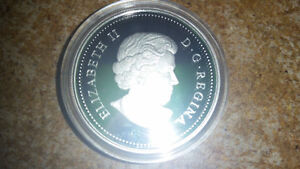 2010 Canada Proof Sterling Silver Dollar - 100th Anniv. Canadian London Ontario image 3