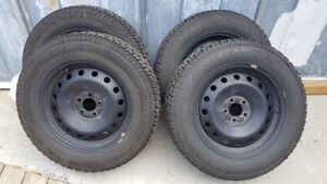 FORD Explorer winter tires & rims - may fit other vehicles