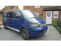 Volkswagen T5 2 Berth 3 Seat Belts Camper Van For Sale