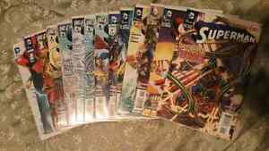 Superman (new 52) #0-13 first edition