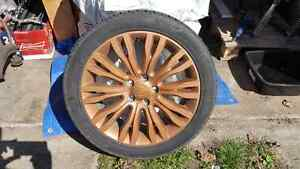 "4 18"" 5x114.3 200 Wheels with Brand New Tires"