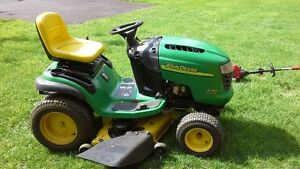 "John Deere L130 Tractor w/ 48"" Mower Deck"