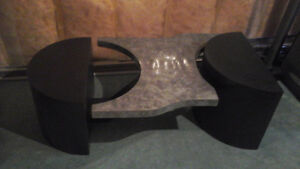 Custom one-of-a-kind modern coffee table Kitchener / Waterloo Kitchener Area image 2